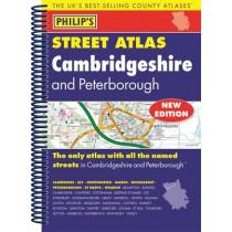 Philip's Street Atlas Cambridgeshire and Peterborough, 9781849073615