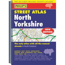 Philip's Street Atlas North Yorkshire, 9781849073684