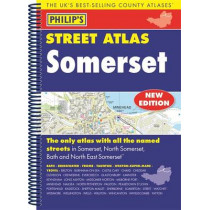 Philip's Street Atlas Somerset, 9781849074278