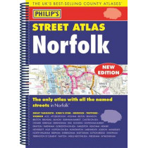 Philip's Street Atlas Norfolk by Philip's Maps, 9781849074285
