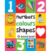 Numbers, Colours, Shapes: First 100 Soft To Touch by Roger Priddy, 9781849154239