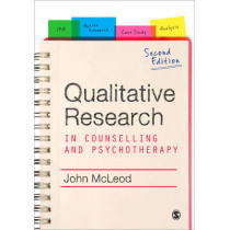 Qualitative Research in Counselling and Psychotherapy by John McLeod, 9781849200622