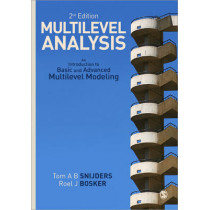 Multilevel Analysis: An Introduction to Basic and Advanced Multilevel Modeling by Tom A. B. Snijders, 9781849202015