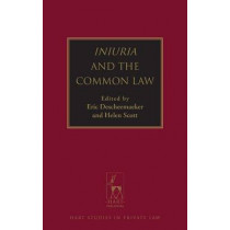 Iniuria and the Common Law by Eric Descheemaeker, 9781849465038