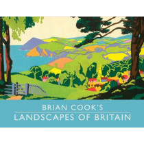 Brian Cook's Landscapes of Britain: a guide to Britain in beautiful book illustration, mini edition by Brian Cook, 9781849940368