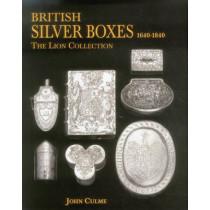 British Silver Boxes 1640-1840 by John Culme, 9781851497829
