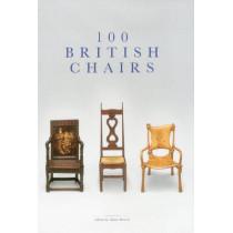 100 British Chairs by Adam Bowett, 9781851497973