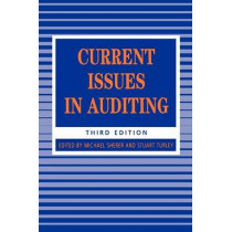 Current Issues in Auditing by Michael J. Sherer, 9781853963650