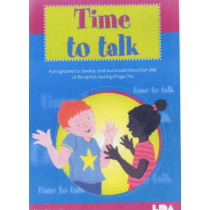 Time to Talk: A Programme to Develop Oral and Social Interaction Skills for Reception and Key Stage One by Alison Schroeder, 9781855033092