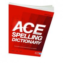 ACE Spelling Dictionary by David Moseley, 9781855035058