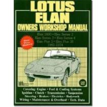 Lotus Elan Owners Workshop Manual 1962-74 by R M Clarke, 9781855200227