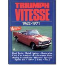 Triumph Vitesse, 1962-71 by R. M. Clarke, 9781855200500