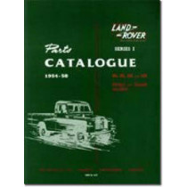 Land Rover Series 1 Parts Catalogues 1954-58 by Brooklands Books Ltd, 9781855201071