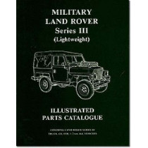 Military Land Rover Series III (lightweight) Parts Catalogue by Brooklands Books Ltd, 9781855201545