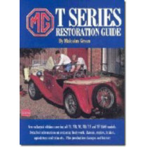 MG T Series Restoration Guide by Malcolm Green, 9781855202115