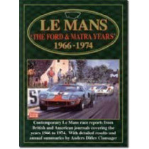 Le Mans: The Ford and Matra Years, 1966-74 by R. M. Clarke, 9781855203730