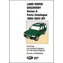 Land Rover Discovery Series II Parts Catalogue 1999-2003 MY by R. M. Clarke, 9781855208858