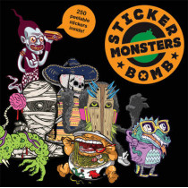 Stickerbomb Monsters by Studio Rarekwai (SRK), 9781856698955