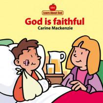 God Is Faithful Board Book by Carine MacKenzie, 9781857924817