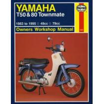Yamaha T50 & 80 Townmate (83 - 95) by Haynes Publishing, 9781859600689