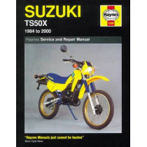 Suzuki TS50X (84 - 00) by Haynes Publishing, 9781859605264