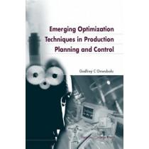 Emerging Optimization Techniques In Production Planning & Control by Godfrey C. Onwubolu, 9781860942662