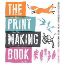 Print Making Book by Vanessa Mooncie, 9781861089212