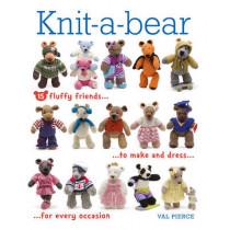 Knit-a-Bear by Val Pierce, 9781861089779