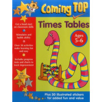 Coming Top: Times Tables - Ages 5-6 by Louisa Somerville, 9781861476876