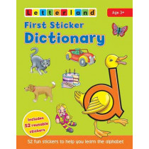 First Sticker Dictionary by Lyn Wendon, 9781862092723