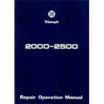 Triumph 2000 and 2500 Workshop Manual, 9781869826086