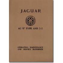 Jaguar E-Type 4.2 Series 1 Handbook by Brooklands Books Ltd, 9781869826383