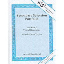 Secondary Selection Portfolio: Test Pack 2: Verbal Reasoning Practice Papers (Multiple-choice Version), 9781871993325