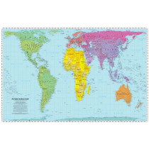Peters World Map: Folded by WorldView, 9781872142029