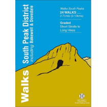 Walks South Peak District: Including Bakewell and Dovedale by Richard Hallewell, 9781872405490