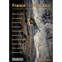 France: Cote d'Azur: Rockfax Rock Climbing Guide by Chris Craggs, 9781873341285