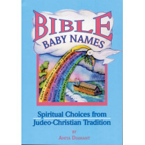 Bible Baby Names: Spiritual Choices from Judeo-Christian Tradition by Anita Diamant, 9781879045620