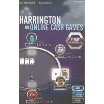 Harrington on Online Cash Games: 6-Max No-Limit Hold 'em by Dan Harrington, 9781880685495