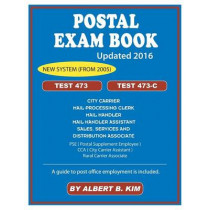 Postal Exam Book: For Test 473 and 473-C by Albert Kim, 9781889057774