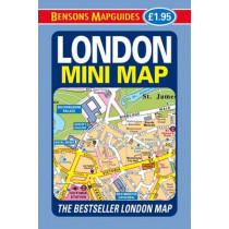 London Mini Map by Bensons MapGuides, 9781898929536