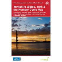 Yorkshire Wolds, York & The Humber Cycle Map 28, 9781900623452