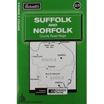 Suffolk and Norfolk Map, 9781904678502