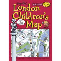 London Children's Map by Kourtney Harper, 9781904711049