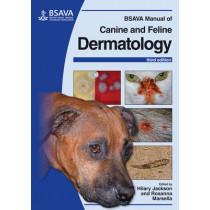 BSAVA Manual of Canine and Feline Dermatology by Hilary Jackson, 9781905319275