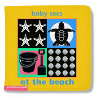Baby Sees Bath Book: At the Beach by Chez Picthall, 9781905503377