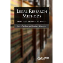 Legal Research Methods: Principles and Practicalities by Laura Cahillane, 9781905536764