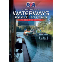 RYA European Waterways Regulations by Tam Murrell, 9781906435875