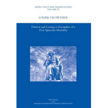 Diderot and Lessing as Exemplars of a Post-spinozist Mentality by Louise Crowther, 9781906540883