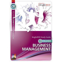 CfE Higher Business Management Study Guide by William Reynolds, 9781906736583