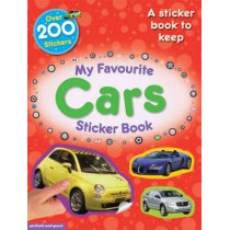 My Favourite Cars Sticker Book by Chez Picthall, 9781907604010